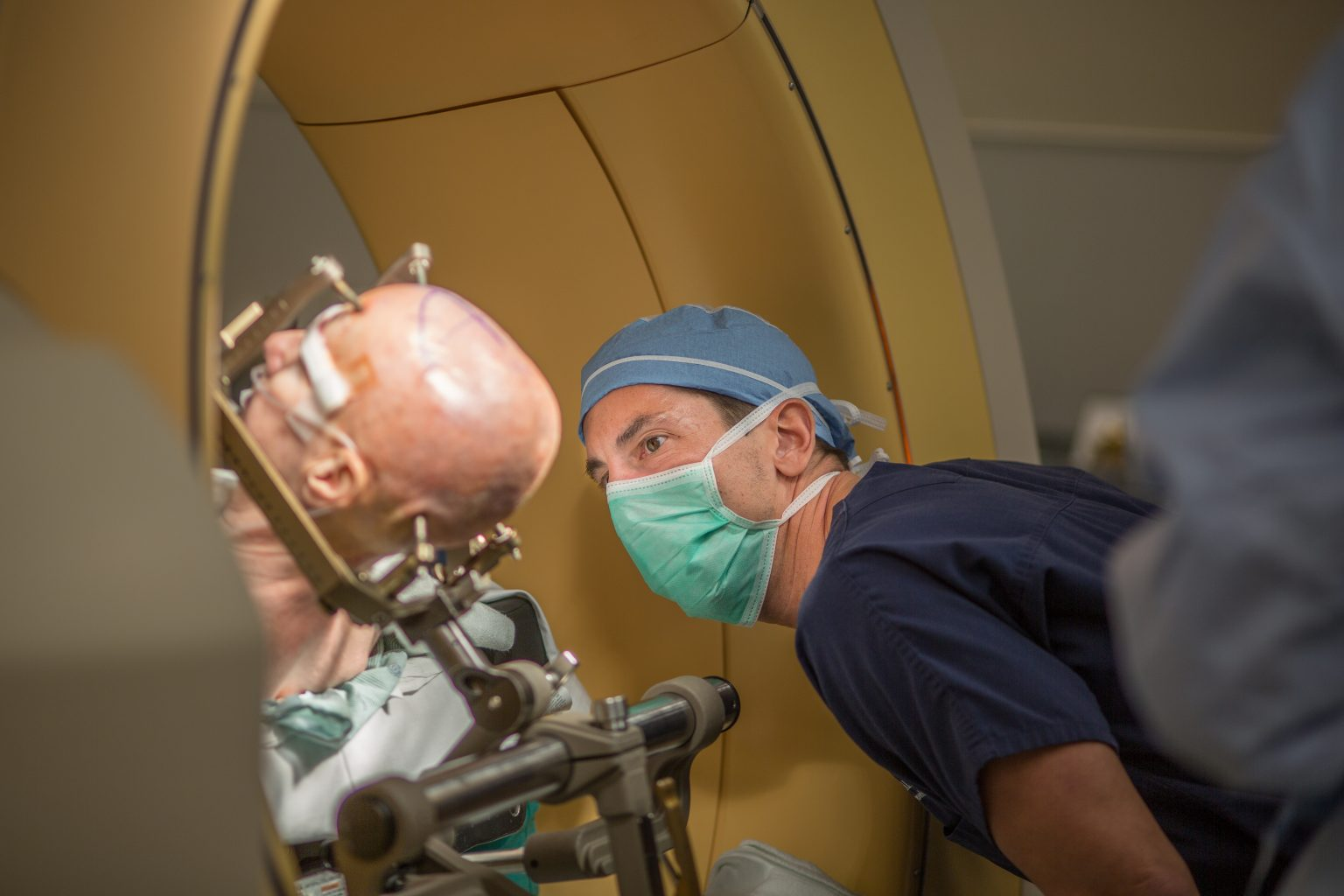 Inside a modern operating room